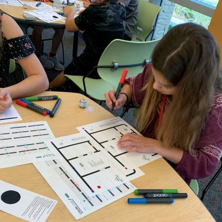 Wow!  Our students are learning with Ozobots!